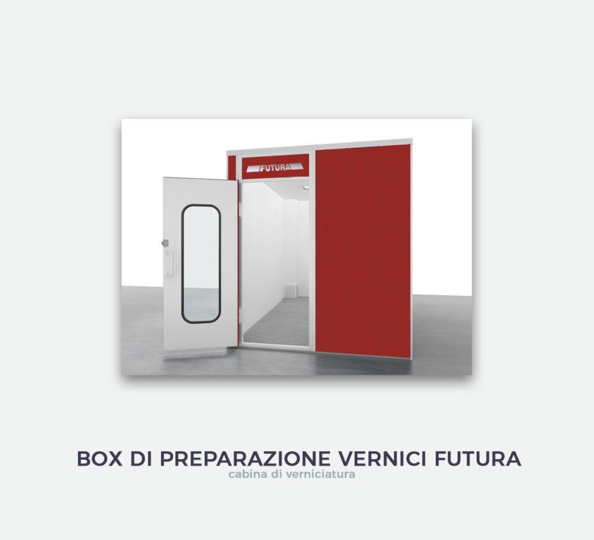 Box di preparazione vernici Futura